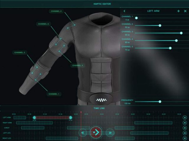 Teslasuit for Virtual reality (1)