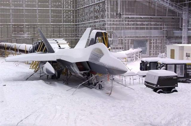 Testing Combat Aircraft to Withstand A Blizzard (4)