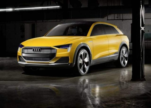 The Hydrogen powered Audi H-Tron quattro concept