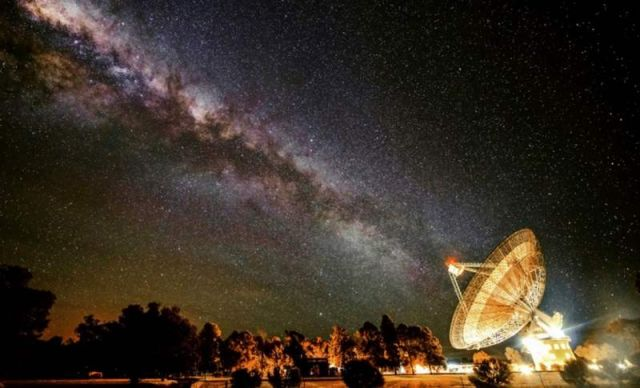 CSIRO Parkers radio telescope is in the search for alien civilizations