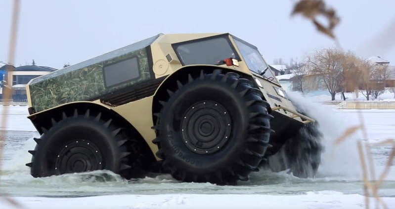 Amazing Russian Trucks that look like a toy