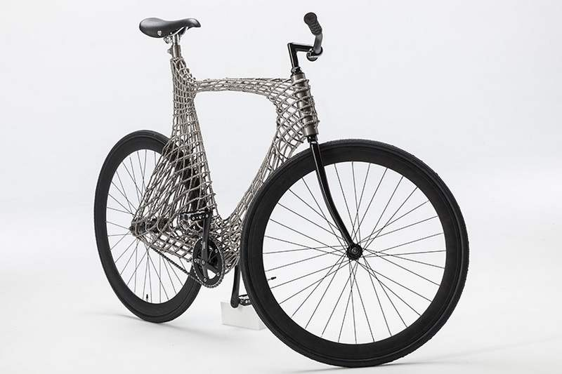 Arc Bicycle has 3D-printed steel frame (5)