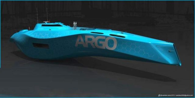 Argo Yacht concept by Vasilatos Ianis