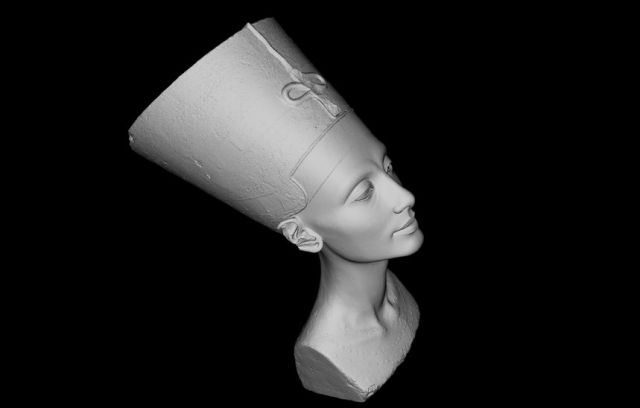 3D data of Nefertitis Head