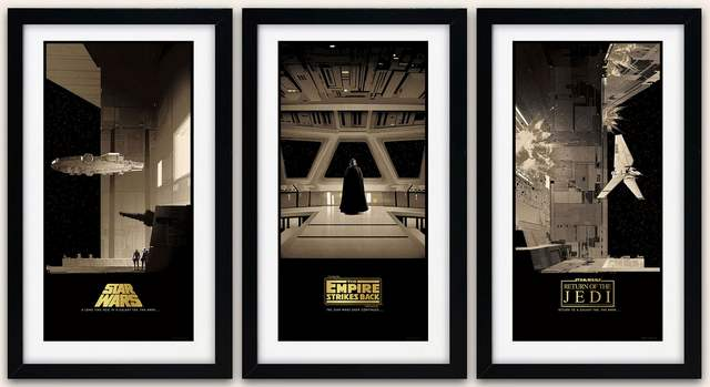 Star Wars Posters by Matt Ferguson (6)