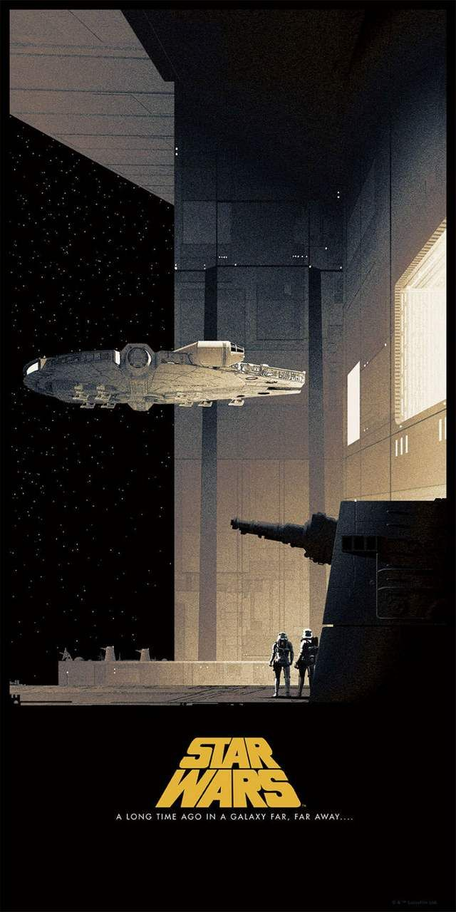 Star Wars Posters by Matt Ferguson (3)