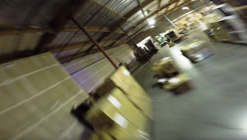 Drone warehouse racing