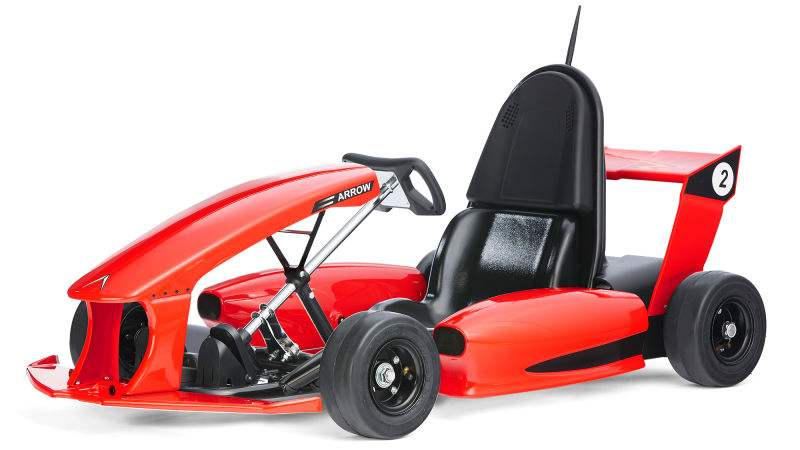 Wordlesstech electric go kart is a tesla for kids for Motorized vehicles for 12 year olds