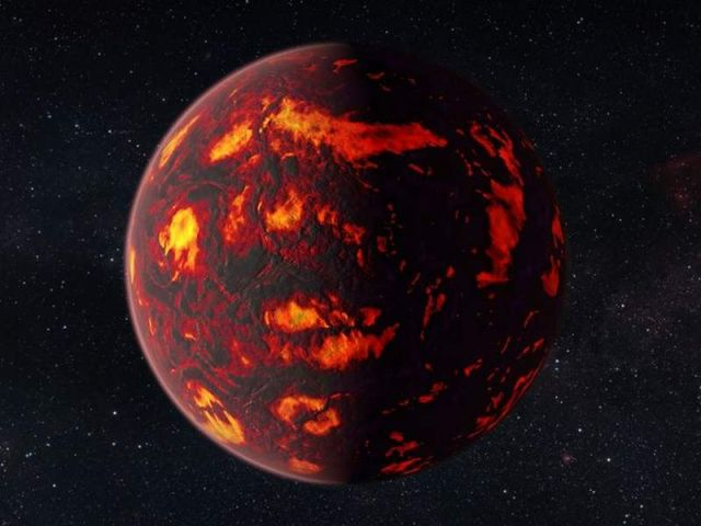 Gases in a 'super-Earth' atmosphere detected