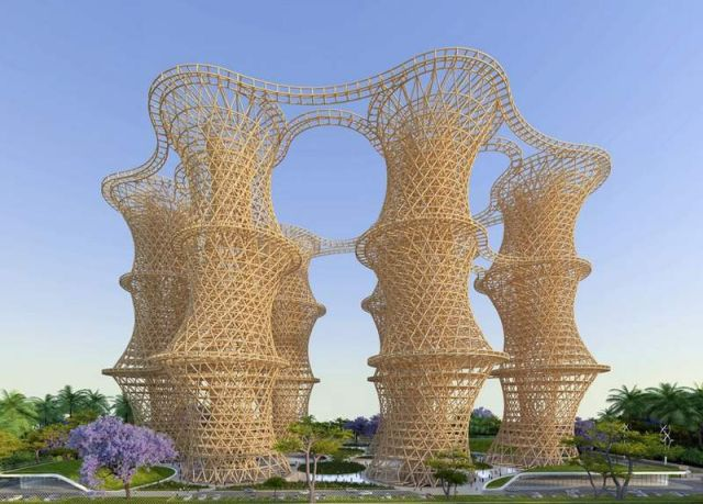 Hyperions- Sustainable Agro-Ecosystem by Vincent Callebaut Architectures (1)