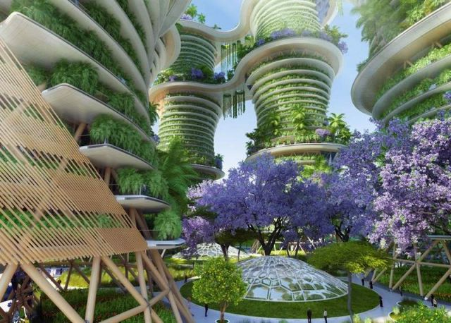 Hyperions- Sustainable Agro-Ecosystem by Vincent Callebaut Architectures (3)