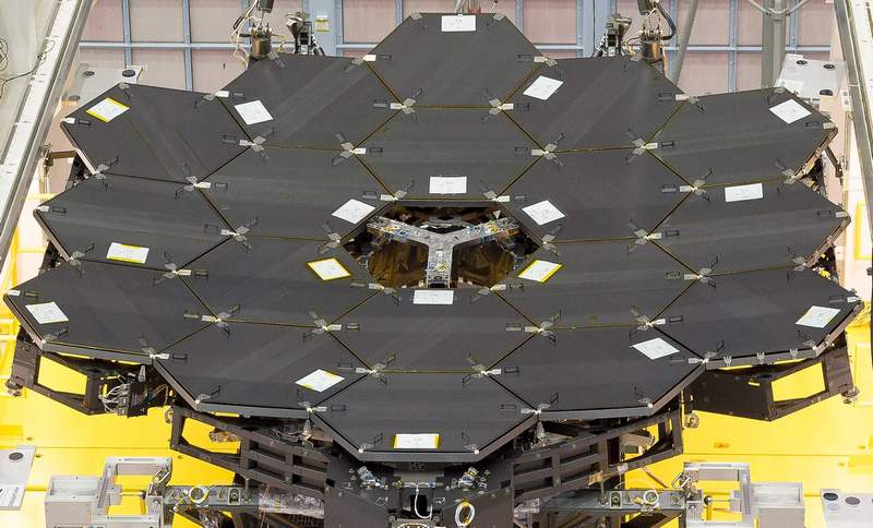 James Webb Space Telescope Primary Mirrors
