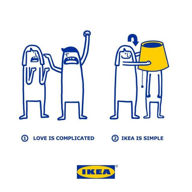 Love is made simpler with IKEA products (5)