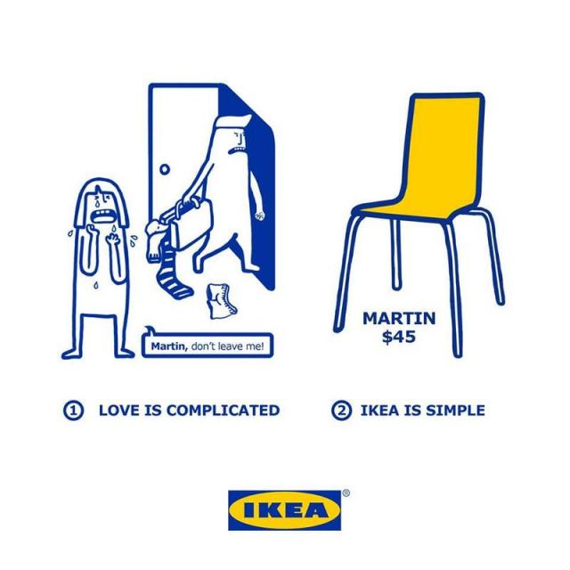 Love is made simpler with IKEA products (4)