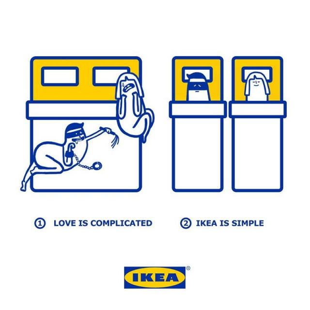 Love is made simpler with IKEA products (2)