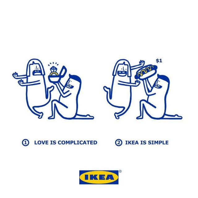 Love is made simpler with IKEA products (1)