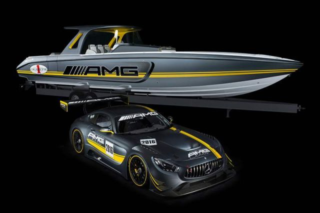 Mercedes-AMG and Cigarette Racing 2016