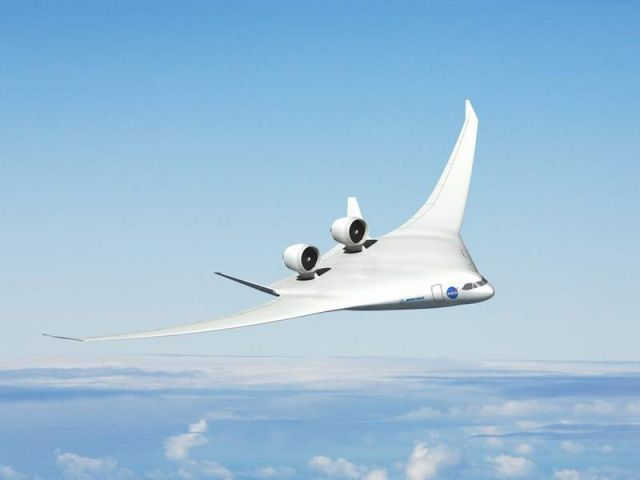 A hybrid wing body aircraft concept