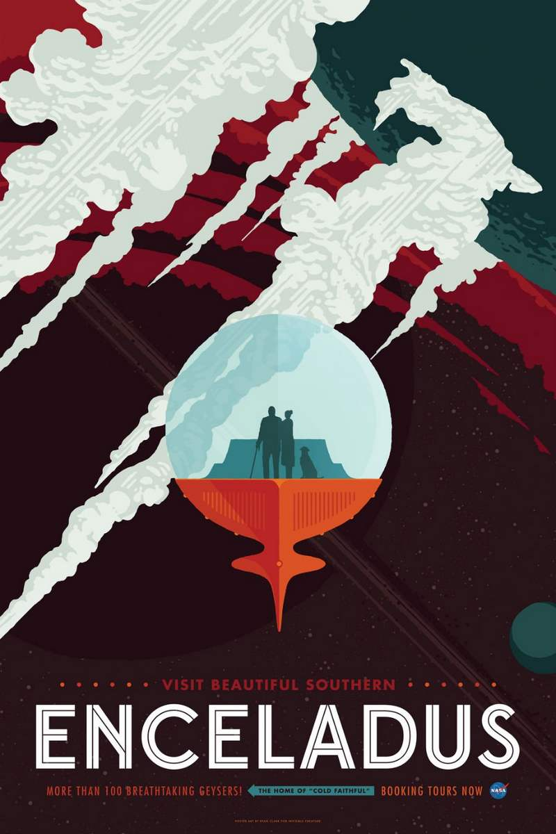 NASA's New Awesome Space Tourism Posters