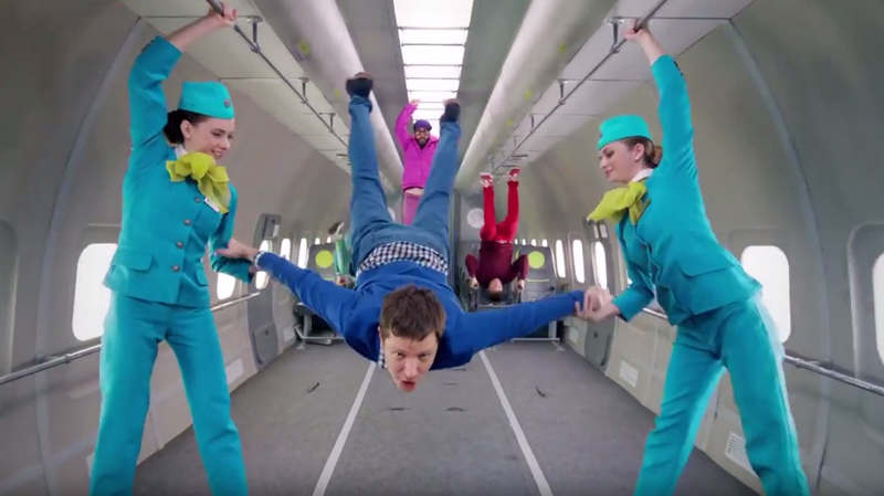 Ok Go's Gravity-Defying Music video