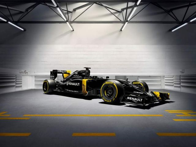 Renault new Formula 1 car