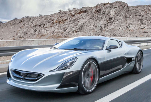 Rimac electric Concept_One