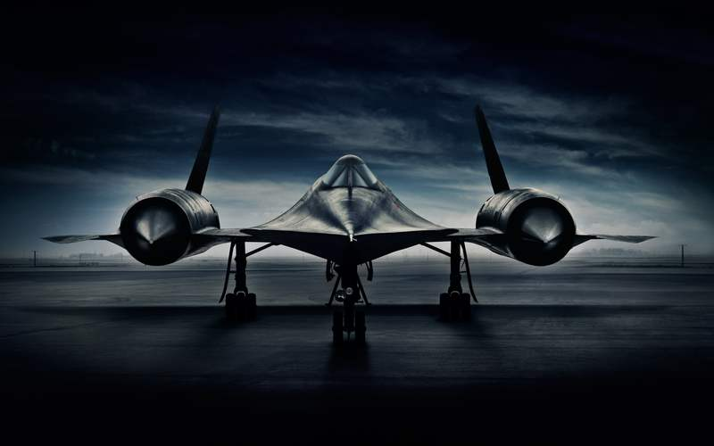 SR-71 Blackbird by Blair Bunting (3)