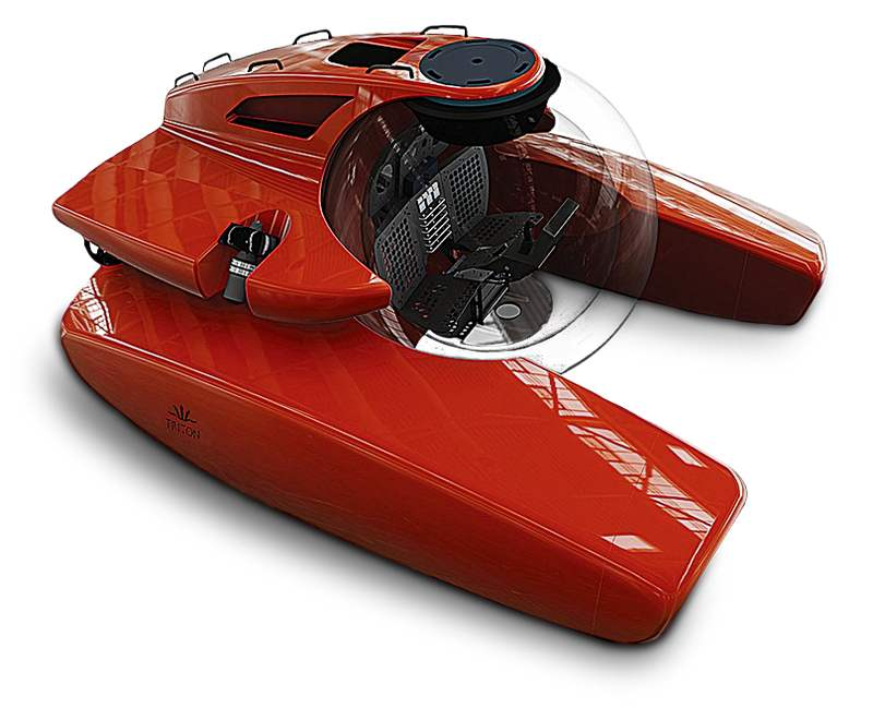 Wordlesstech Triton Personal Submarine Can Dive 2 000 Meters