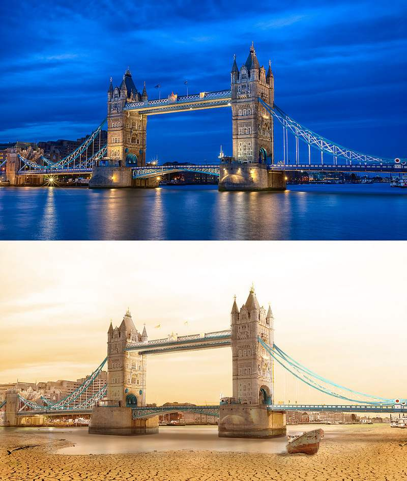 Drought dries up the world's Great Landmarks (7)