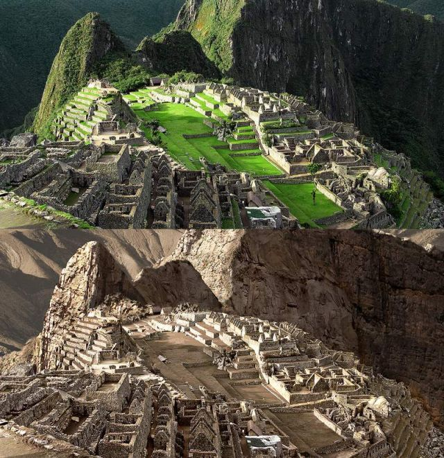 Drought dries up the world's Great Landmarks (2)