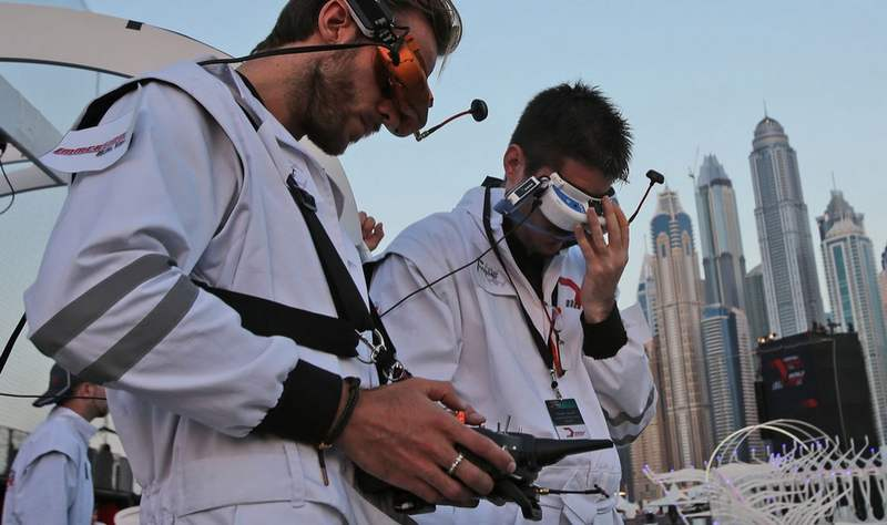 15-year-old pilot wins Dubai's World Drone Prix