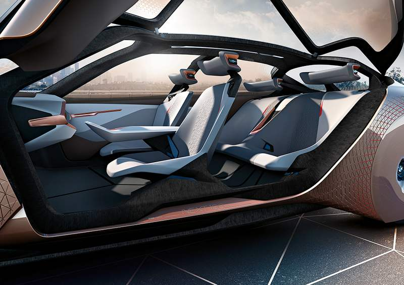 bmw group the next 100 years concept wordlesstech. Black Bedroom Furniture Sets. Home Design Ideas