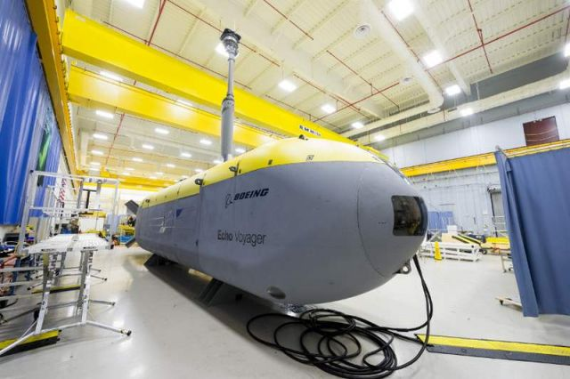 Boeing Unmanned Undersea vehicle that can operate for months