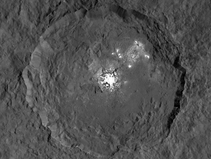 Ceres' enigmatic Bright Spots