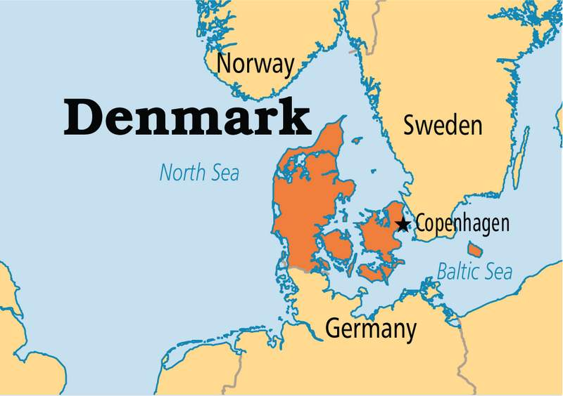 Denmark Facts Culture Recipes Language Government Eating - Map of country