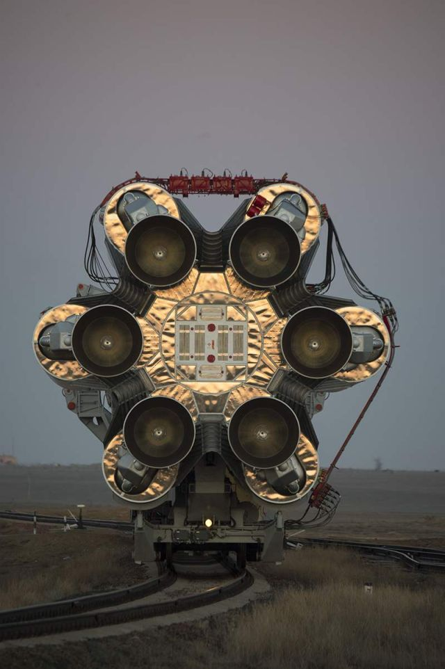 The Proton rocket, launched the ExoMars 2016 spacecraft to Mars