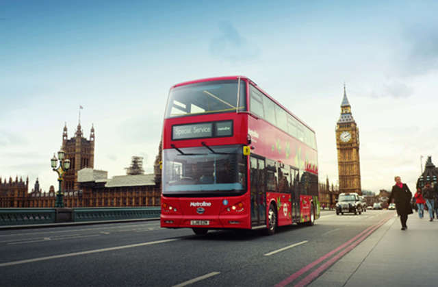 First all-electric double-decker bus debuted in London