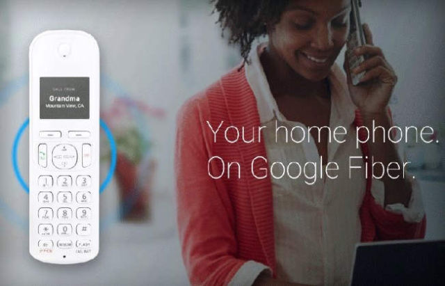 Google unveiled Fiber Phone home telephone service (1)