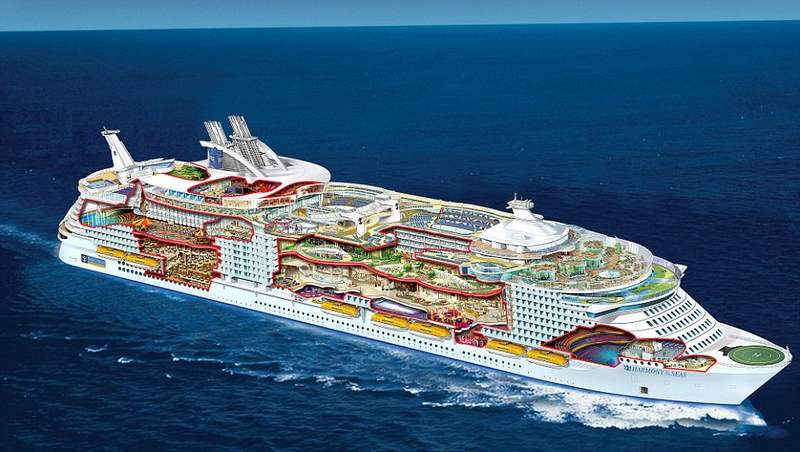 Largest Cruise Ship Planned Tumblr Punchaos Com