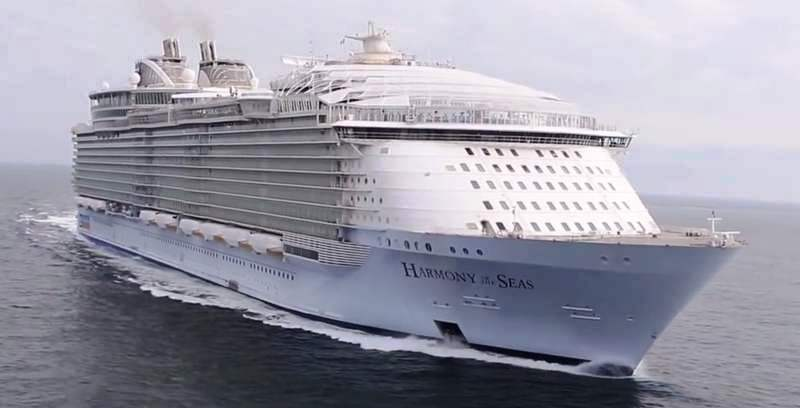 WordlessTech  Harmony Of The Seas  Worlds Largest