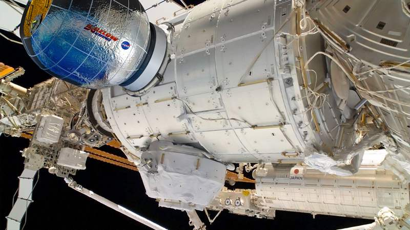 Inflatable Habitat on the Space Station