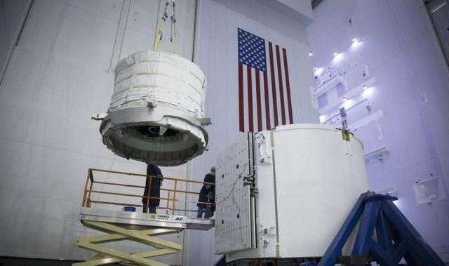 Inflatable Habitat preparing for Launch to the Space Station