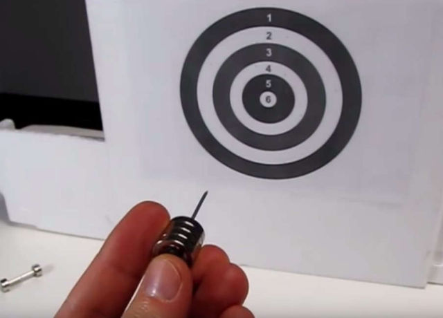 Magnetic Darts - Magnet Arrow Launcher experiment