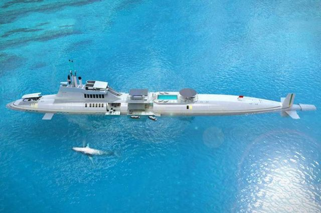 Migaloo Submersible Yacht