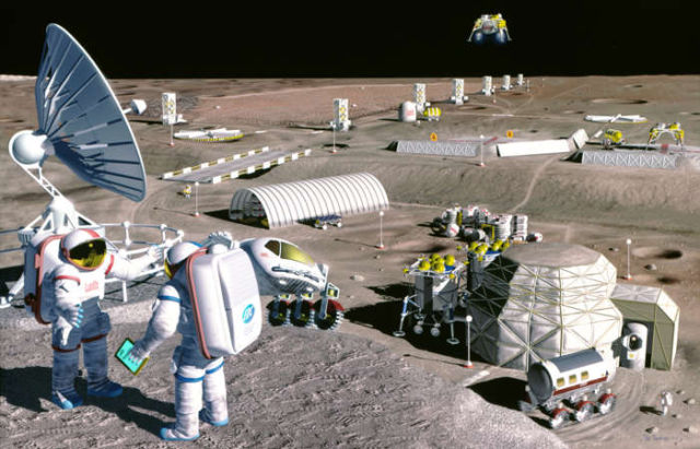 NASA could colonise the Moon by 2022