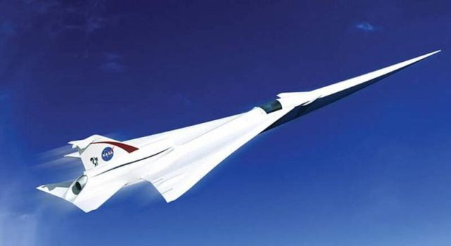 NASA is designing the Quiet Supersonic X-plane