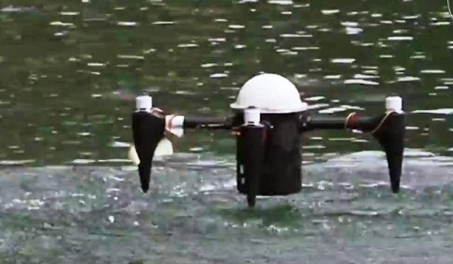 New Drone can Launch from Underwater