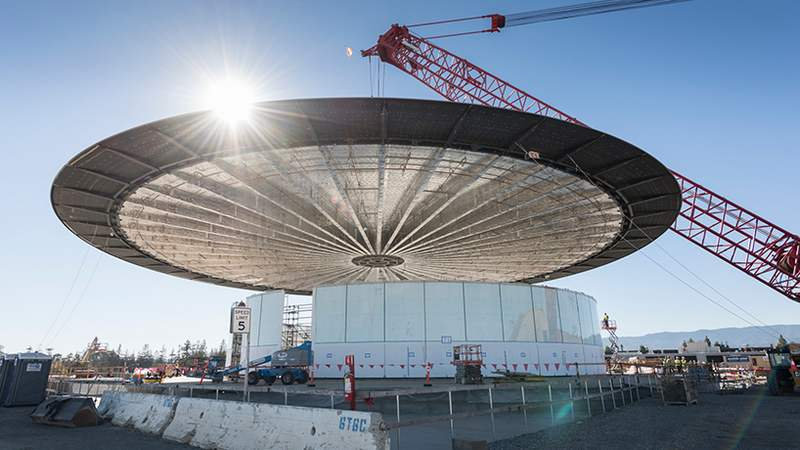 New images of Apple's Cupertino Campus (5)