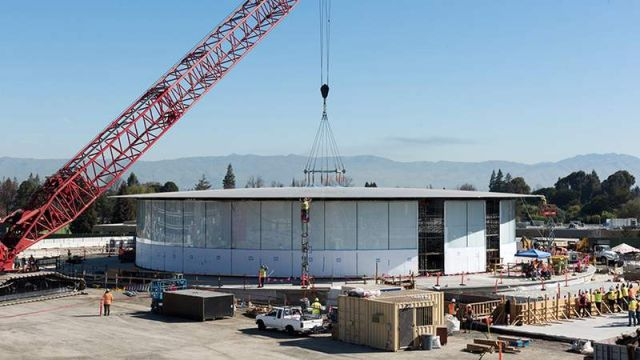 New images of Apple's Cupertino Campus (2)