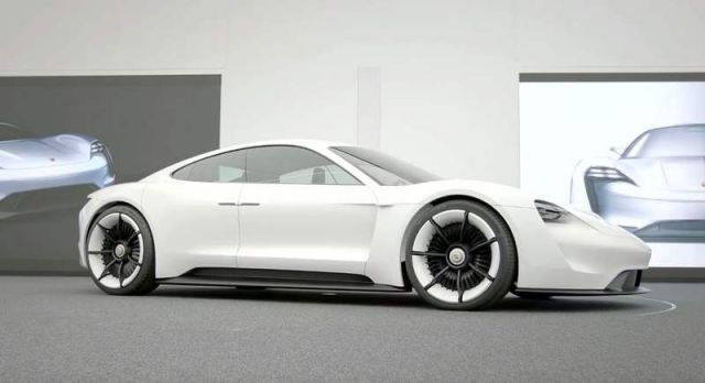 Porsche Mission E - the design of the concept study